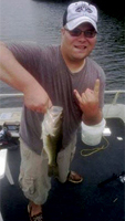 Jacob enjoying fishing post-treatment