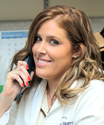 Renee Hunter, PA-C, Lead Physician Assistant for Dr. Herzenberg