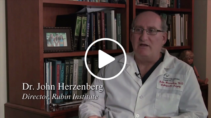 Dr. John Herzenberg Explains Fibular Hemimelia and Congenital Femoral Deficiency Video