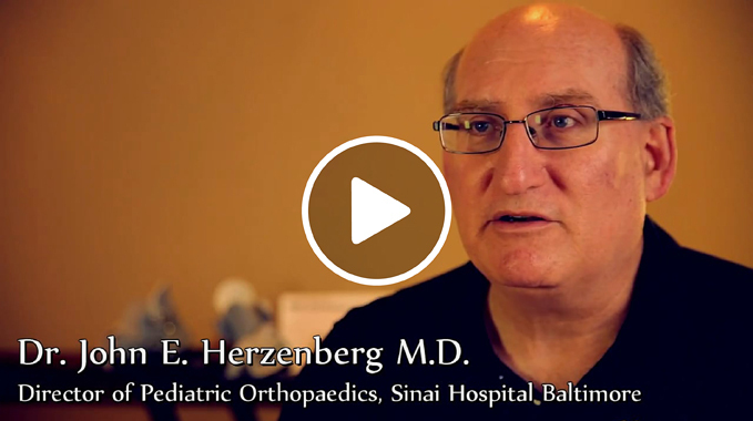 Dr. John Herzenberg Explains Ponseti Method Clubfoot Video