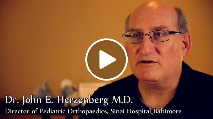 Dr. John Herzenberg Explains Ponseti Method Clubfoot Video