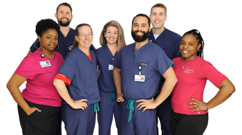 Dr. Michael Assayag, Dr. Janet Conway, and their team of assistants