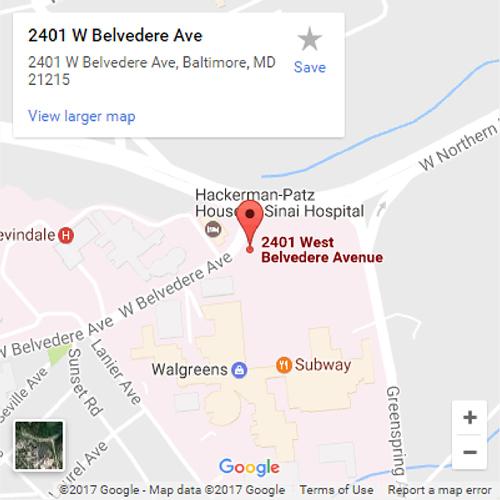 Google Maps location for the International Center for Limb Lengthening