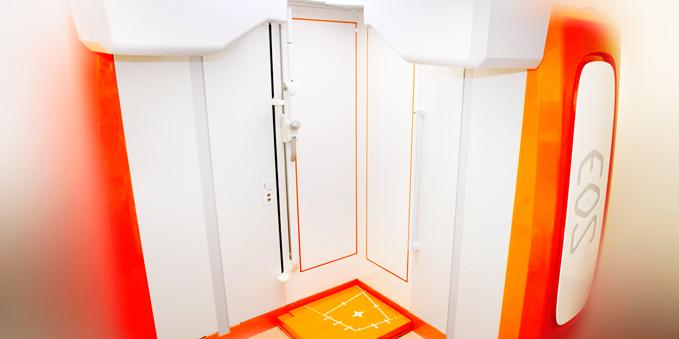 Lower radiation EOSedge X-ray machine