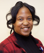 Shameka McCray, Medical Administrative Assistant for Dr. Herzenberg and Dr. McClure